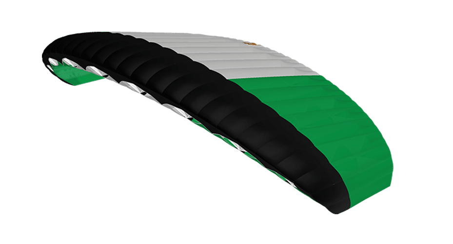 icarus canopies green black and white petra 3D viewer canopy colour picker