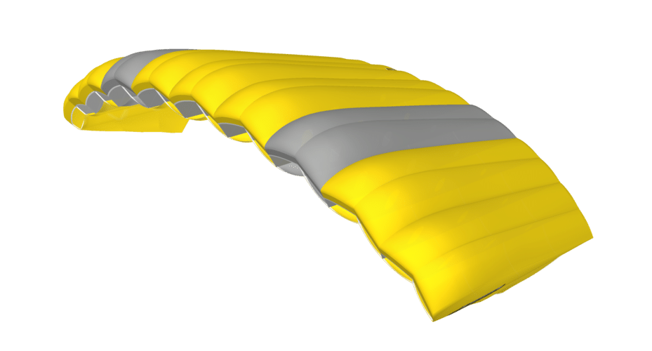 icarus tandem canopy 3D viewer side view