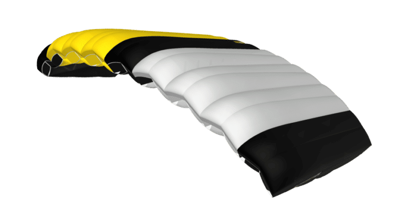 icarus canopies student canopy 3D viewer yellow and black