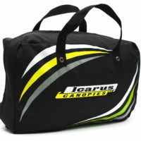 Icarus Canopy Bag viewed diagonally from side