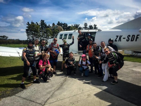 Will skydiving be the same again