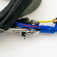 gear hook up mistakes in a parachute's 3-ring system